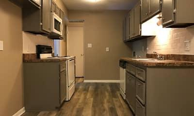Kitchen, Oakridge Place Apartments, 0