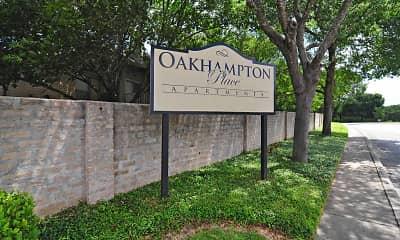 Community Signage, Oakhampton Place, 2