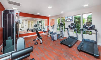 Fitness Weight Room, Rancho Mariposa Apartments, 0