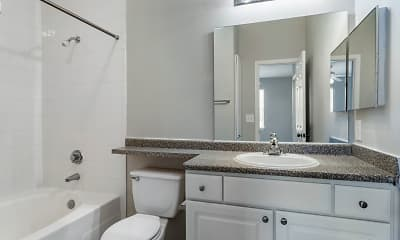 Bathroom, Park at Northgate Apartments, 2