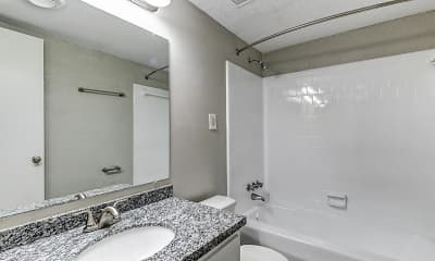Bathroom, The Oaks, 2