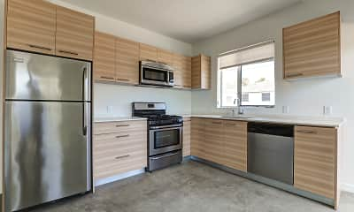 Kitchen, Mar Vista Lofts, 0