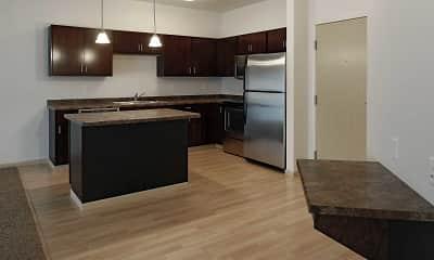 Kitchen, The Cascades Apartments, 1