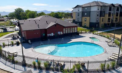 Pool, Oquirrh Hills Apartments, 2
