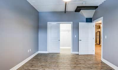 Bedroom, Mid City Apartments, 2