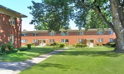 Building, Highland Manor Apartments, 1