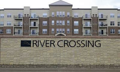 Community Signage, The Communities of River Crossing, 1
