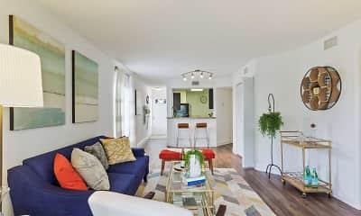 Living Room, Boca Arbor Club Apartments, 1