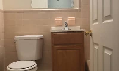 Bathroom, Glenmore Place Apartments, 1