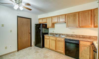 Kitchen, South View, 1