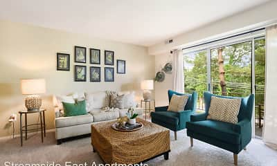Living Room, Streamside, 1