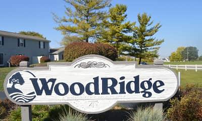 Community Signage, Woodridge, 1