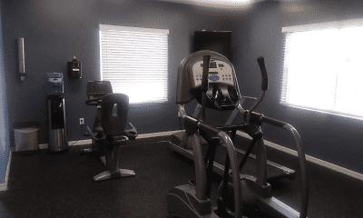 Fitness Weight Room, Lakeland Landing, 2