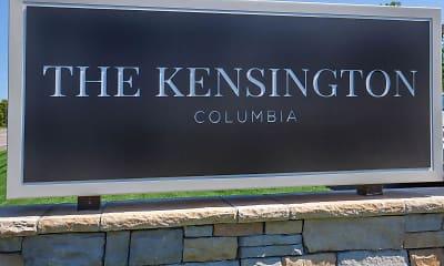 Community Signage, The Kensington, 2