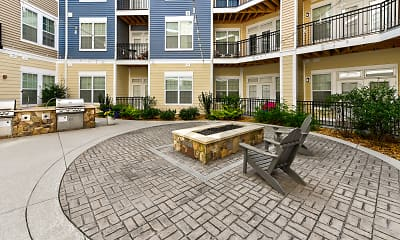 Courtyard, Element at Stonebridge Apartments, 1