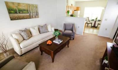 Living Room, Hillcrest - Senior 62+ Community, 0