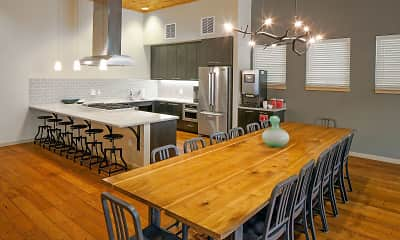 Dining Room, Eddyline At Bridgeport Apartments, 0