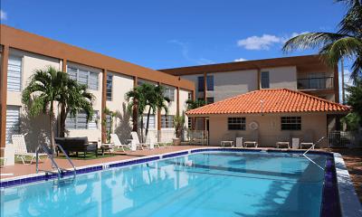 Pool, Las Brisas Gardens, 1