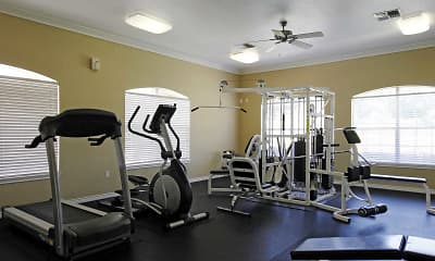 Fitness Weight Room, Grande Hill Estates, 2