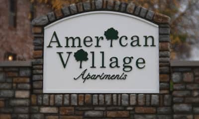American Village Apartments, 0