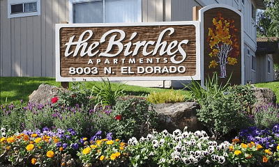 Community Signage, Birches Apartments, 0