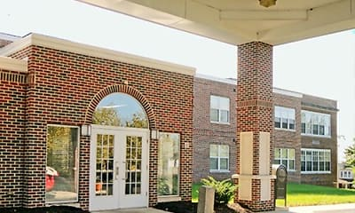 Building, Jefferson School - 62+ Community, 1