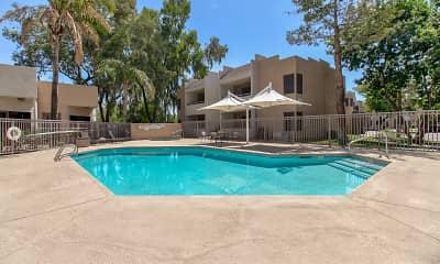 Pool, Rancho Las Palmas, 0