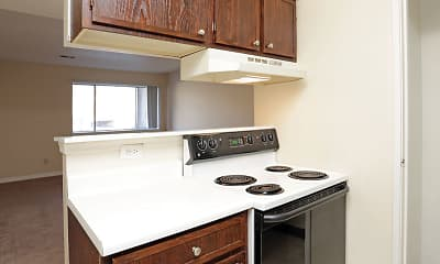 Kitchen, Sherwood Forest Apartments, 2