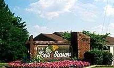 Community Signage, Four Seasons, 0