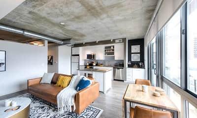 Living Room, AVA NoMa, 1