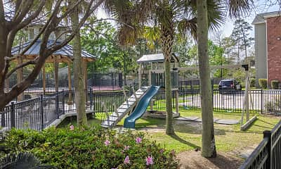 Playground, Mandeville Lake Luxury Apartment Homes, 2