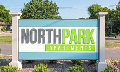 Community Signage, North Park Apartments, 0