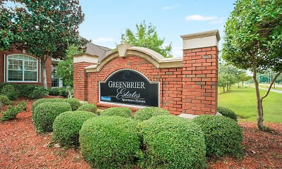 Community Signage, Greenbrier Estates, 2