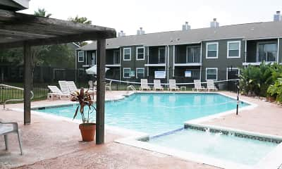 Pool, Mosswood Apartments, 1