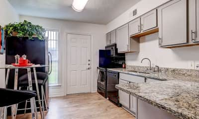 Kitchen, Hillburn Hills Apartments, 0