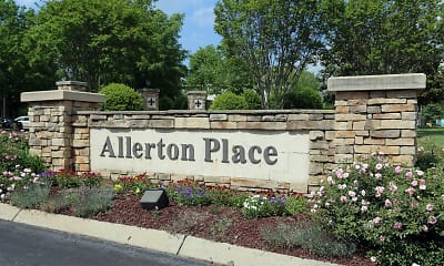 Community Signage, Allerton Place Apartment Homes, 0