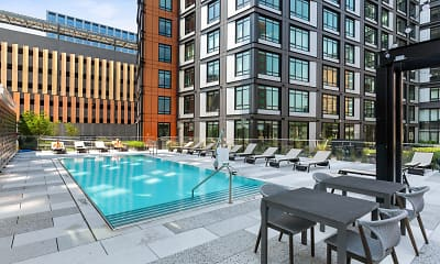 view of pool, Gables Seaport, 1