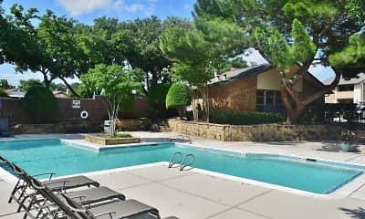 Pool, Trinity Mills Apartments, 0
