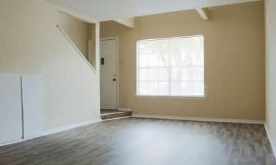 Living Room, The Berkley Apartments, 2