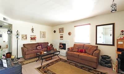 Living Room, Lake Stella Apartments, 1