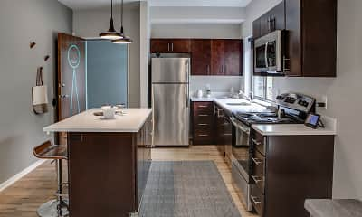 Kitchen, ZAG Apartments, 0