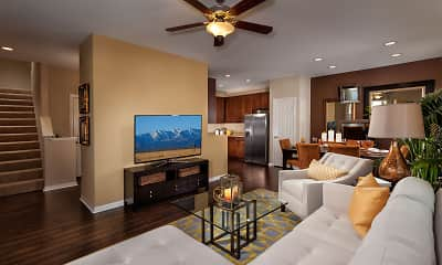 Living Room, The Enclave at Homecoming Terra Vista, 1