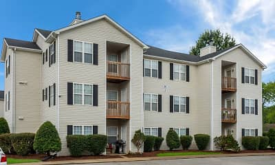 Building, Cave Springs Apartments, 1