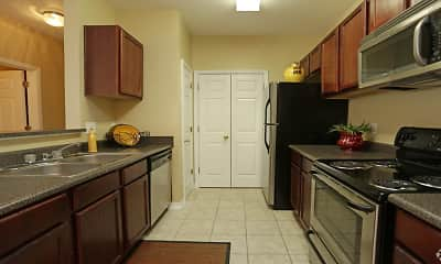 Kitchen, Harborside Apartments, 1