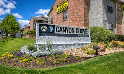 Community Signage, Canyon Grove, 1