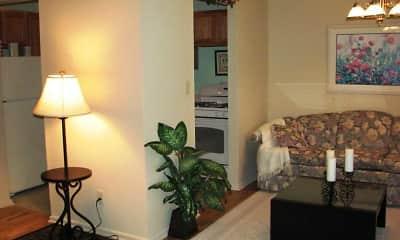 Living Room, Meridian Apartments, 2