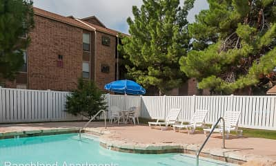 Pool, Ranchland Apartments, 0