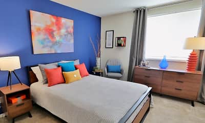 Bedroom, Brookdale at Mark Center, 1