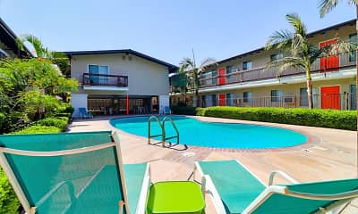 Pool, Towne Center Apartments, 1