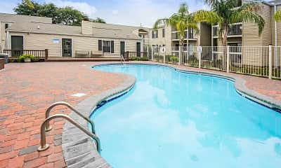 Pool, Baywood Apartment Homes, 1